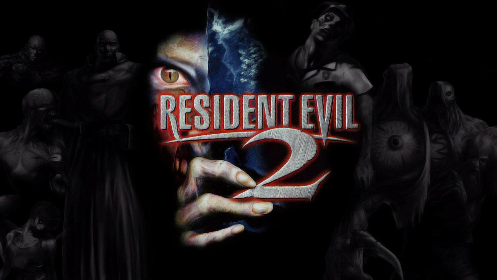 resident evil 2 remake hunk wallpaper