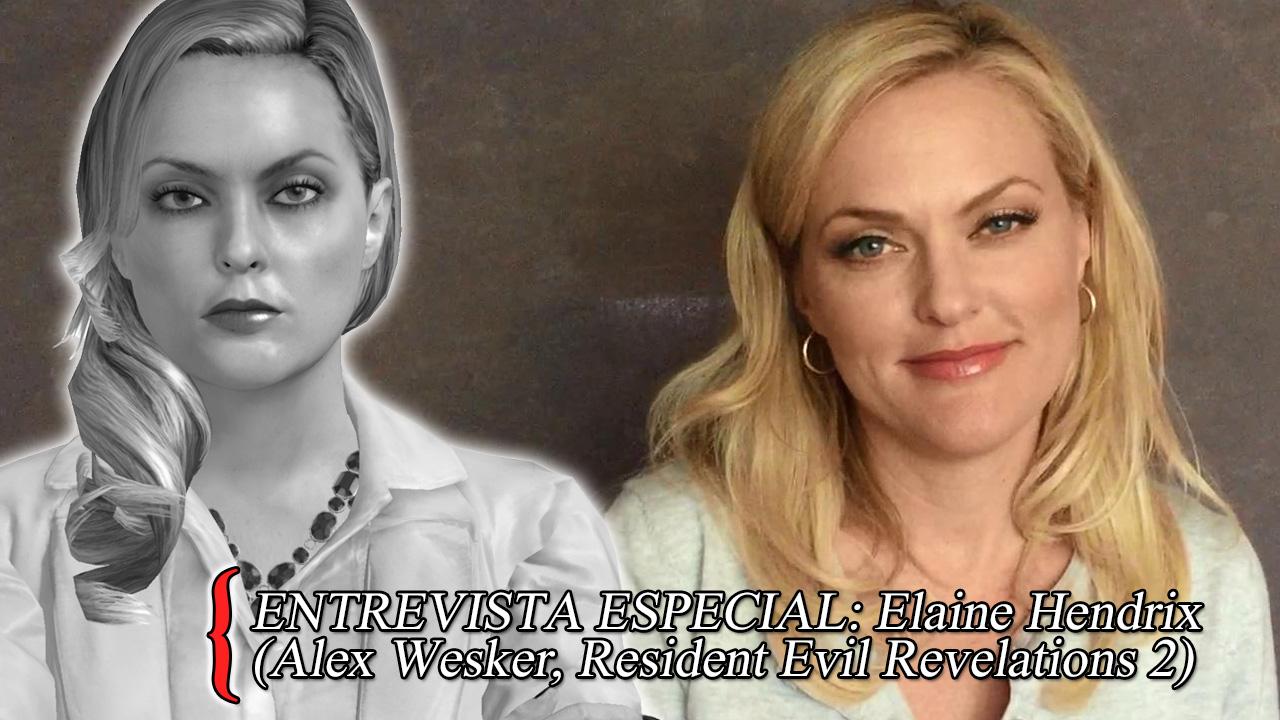 Entrevista com Elaine Hendrix, mo-cap de Alex Wesker em ... Elaine Hendrix Alex Wesker