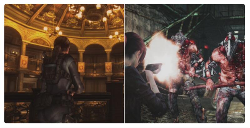 Resident Evil Revelations 1 & 2