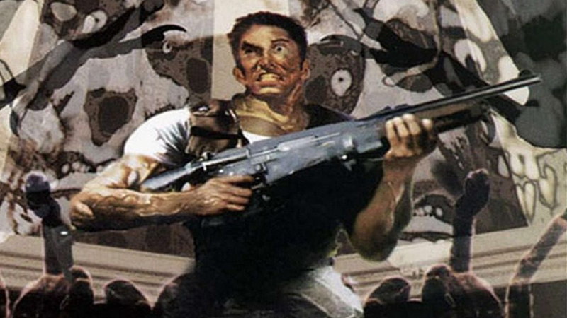 A icônica capa do primeiro Resident Evil, lançado em 22 de Março de 1996