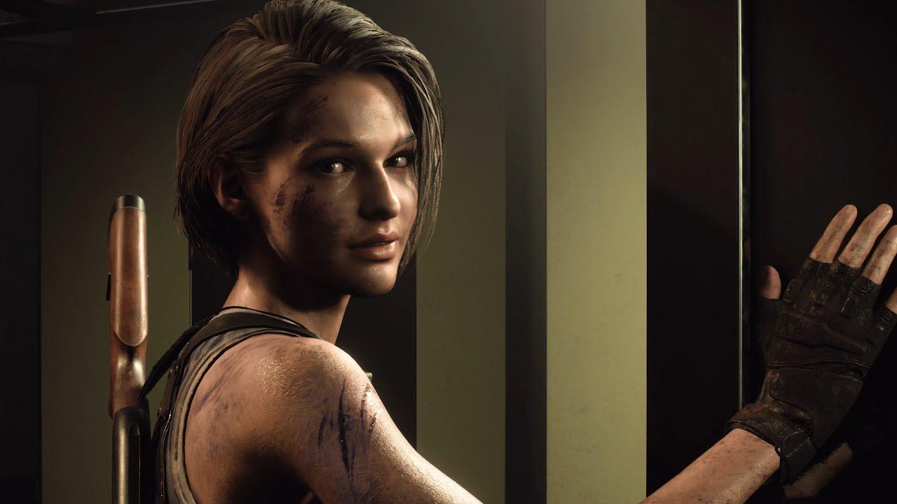 Jill Valentine em Resident Evil 3 Remake