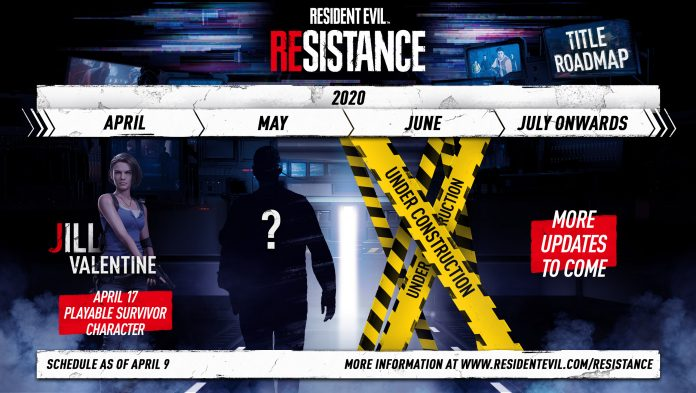 Atualizações em Resident Evil Resistance