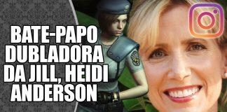 Live com Heidi Anderson no Instagram