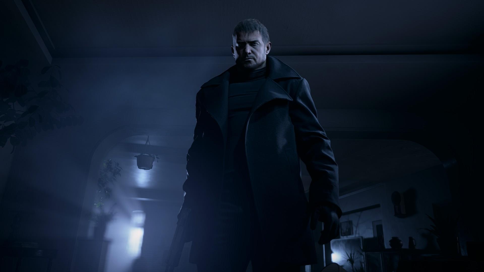 Chris em Resident Evil Village
