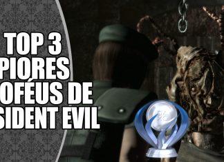 TOP 3 Piores Conquistas de Resident Evil