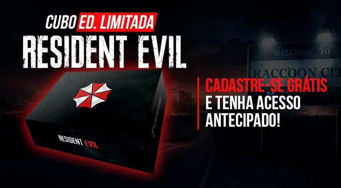 Nerd ao Cubo de Resident Evil