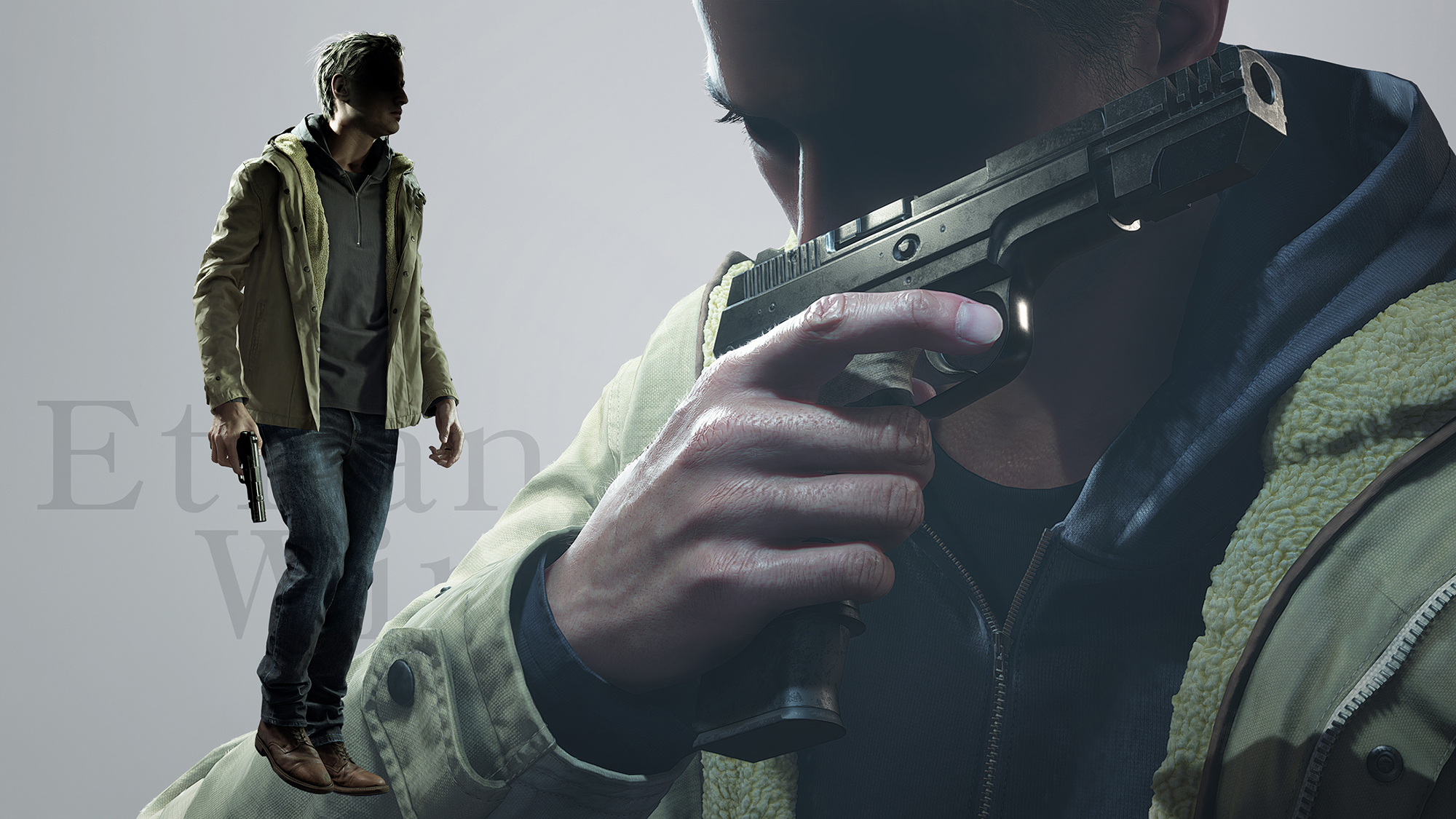 Ethan Winters em Resident Evil Village (Resident Evil 8)