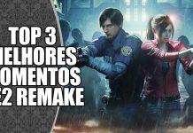 Melhores Momentos de Resident Evil 2 Remake