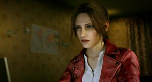 Claire em Resident Evil: No Escuro Absoluto (Infinite Darkness)