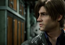 Leon em Resident Evil: No Escuro Absoluto (Infinite Darkness)
