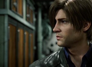 Leon em Resident Evil: No Escuro Absoluto (Infinite Darkness)