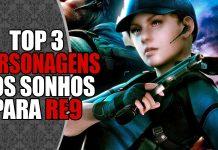 Personagens para Resident Evil 9