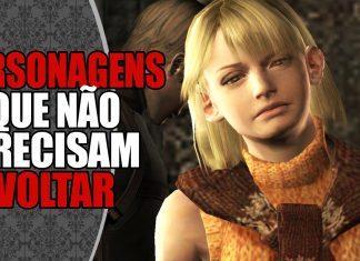 Personagens que NÃO precisam voltar em Resident Evil