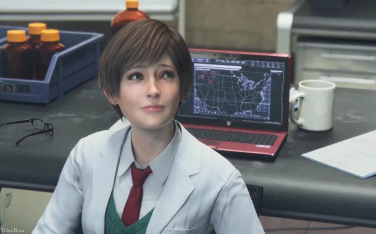 Rebecca Chambers em Resident Evil Vendetta