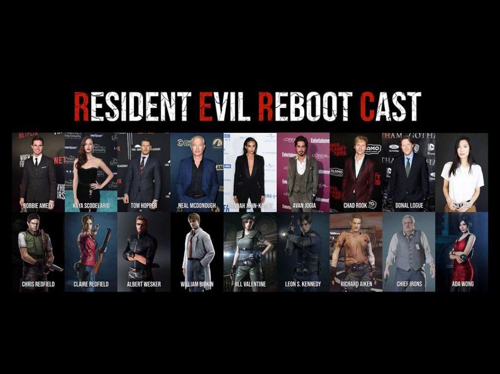 Resultado de imagem para resident evil reboot