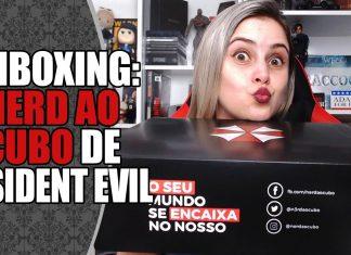 Unboxing: Nerd Ao Cubo de Resident Evil