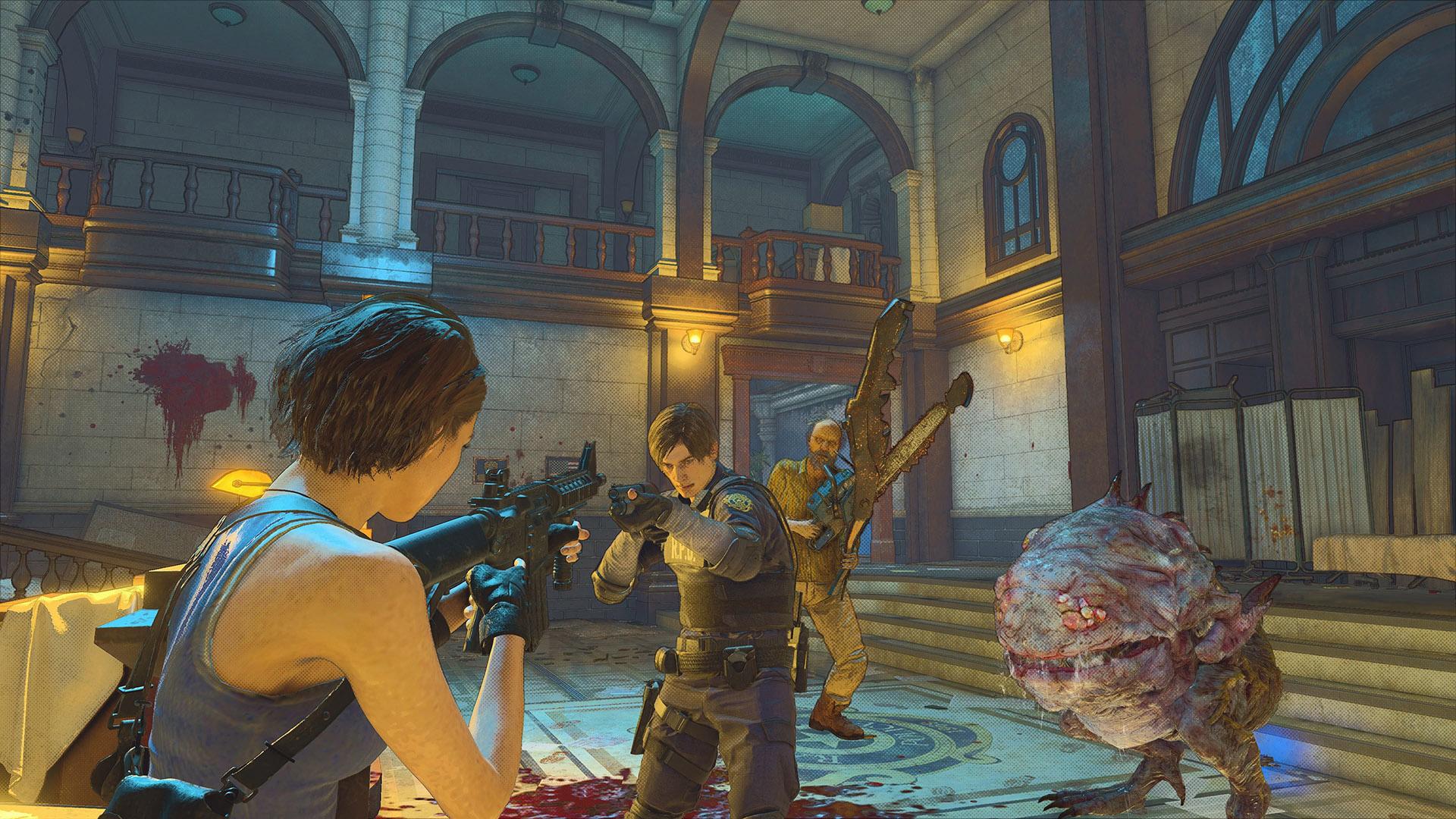 RE:Verse, o presente de 25 anos de Resident Evil que ninguém pediu.