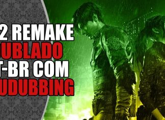 REact: RE2 Remake Dublado por YouDubbing