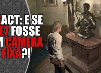 REact: Conceito de Resident Evil 7 em Câmera Fixa, criado por fãs!