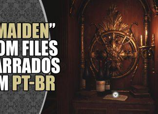 Demo MAIDEN de Resident Evil Village com os Files Narrados em PT-BR