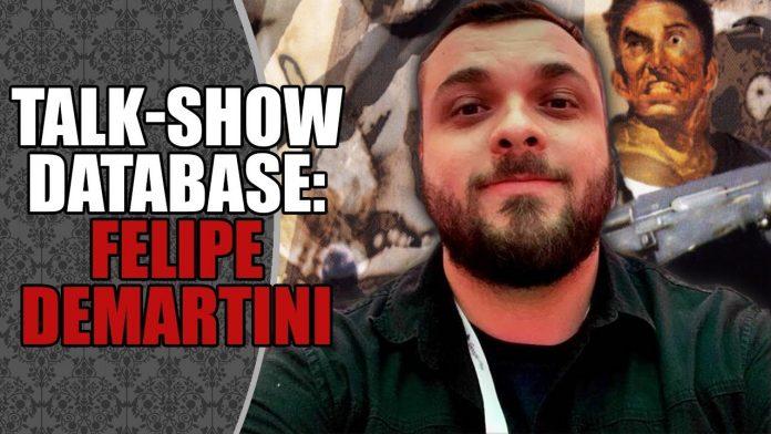 Talk-Show Database #6: Felipe Demartini