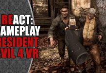 REact: Gameplay de Resident Evil 4 em VR (Oculus Quest)