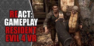 REact: Gameplay de Resident Evil 4 em VR (Oculus Quest)