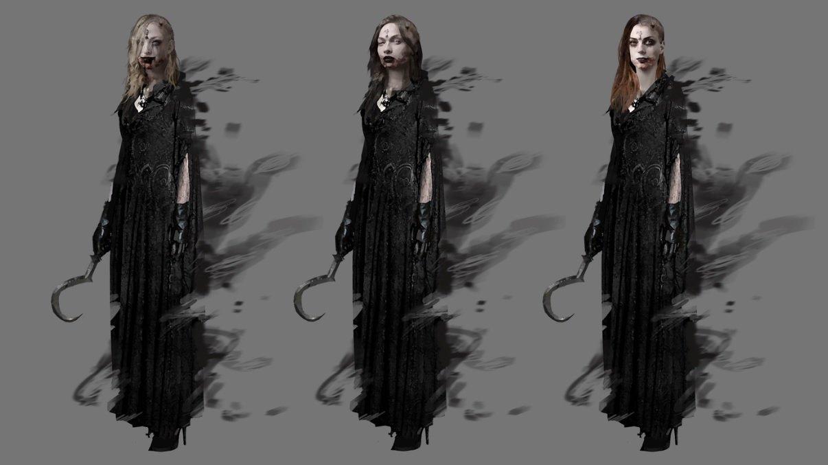 Filhas de Alcina Dimitrescu em Resident Evil Village