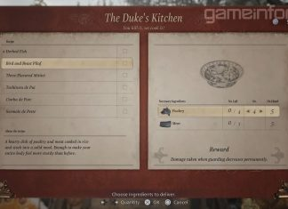 Loja d'O Duque, o Mercador em Resident Evil Village