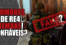 Novos Rumores de Resident Evil 4 Remake... Será que dá pra confiar?