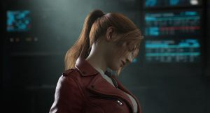 Claire Redfield em RESIDENT EVIL: No Escuro Absoluto