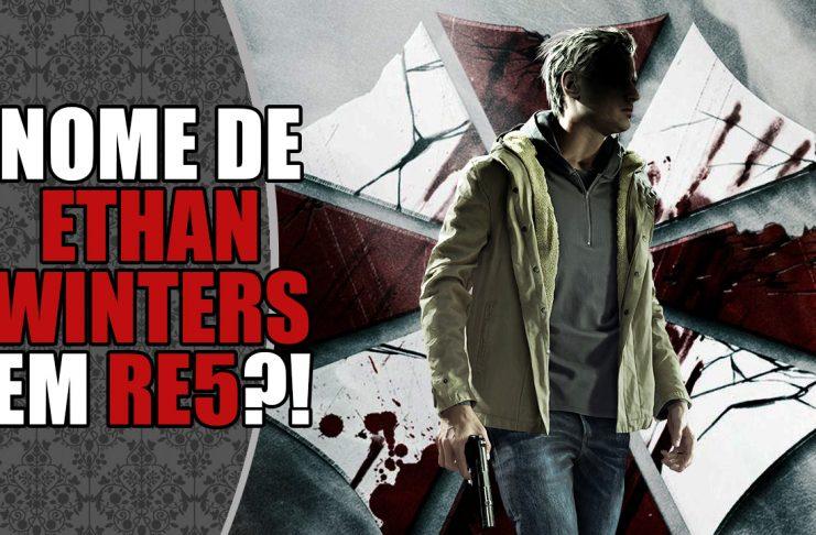 Ethan W. de Resident Evil 5 seria Ethan Winters?! (RE-Farsas)