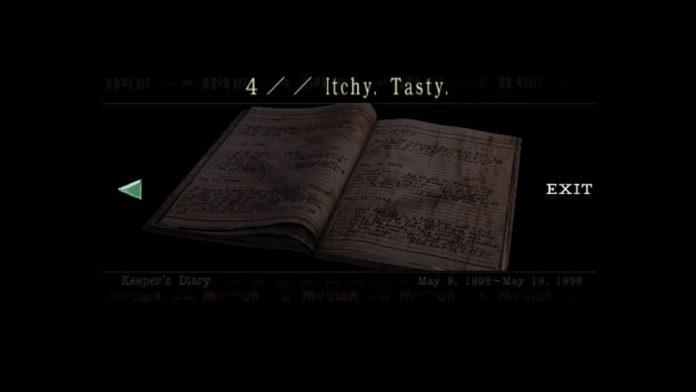 Keeper's Diary, 4 Itchy Tasty