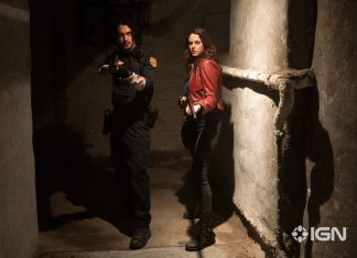 Resident Evil: Bem Vindo a Raccoon City (Avan Jogia e Kaya Scodelario)