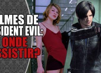 Guia Especial: Onde Assistir os Filmes e Animações de Resident Evil?